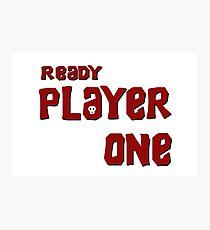 Ready Player Goonies Photographic Print