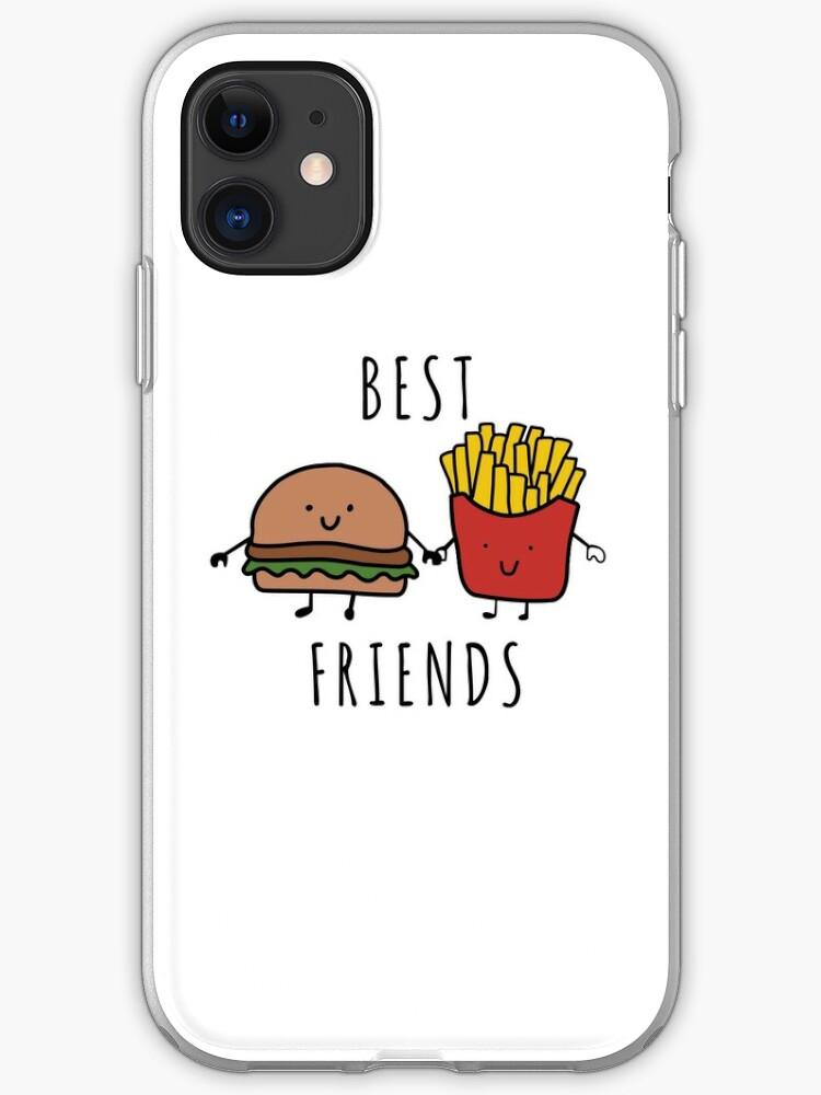 Burger Abduction iphone case