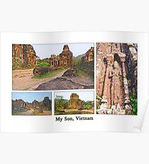 Vietnam: My Son Sanctuary Poster