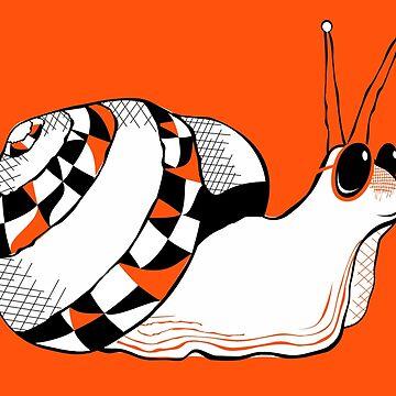 Funny Snail by lents