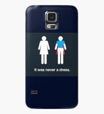 Es war nie ein Kleid Hülle & Klebefolie für Samsung Galaxy