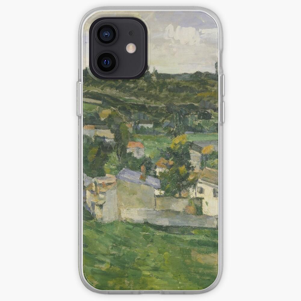 Stolen Art - View of Auvers-sur-Oise by Paul Cezanne iPhone Case & Cover