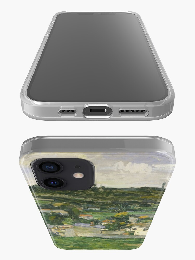 Alternate view of Stolen Art - View of Auvers-sur-Oise by Paul Cezanne iPhone Case & Cover