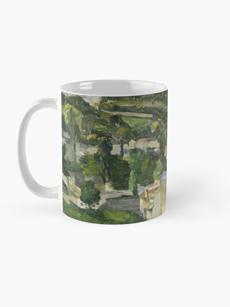 Alternate view of Stolen Art - View of Auvers-sur-Oise by Paul Cezanne Mug