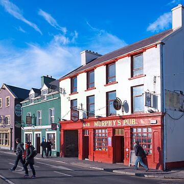 Walking The Sunny Streets Of Dingle Ireland by marksda1