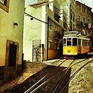 Lisbon Tram by Steve Falla