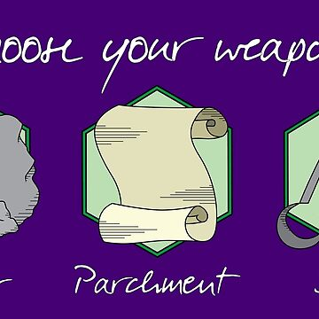Boulder Parchment Shears (Light Text): A Dungeons And Dragons Game by Obsessed