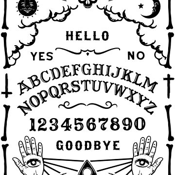 OUIJA BOARD - SPIRIT BOARD by ShirtWreck