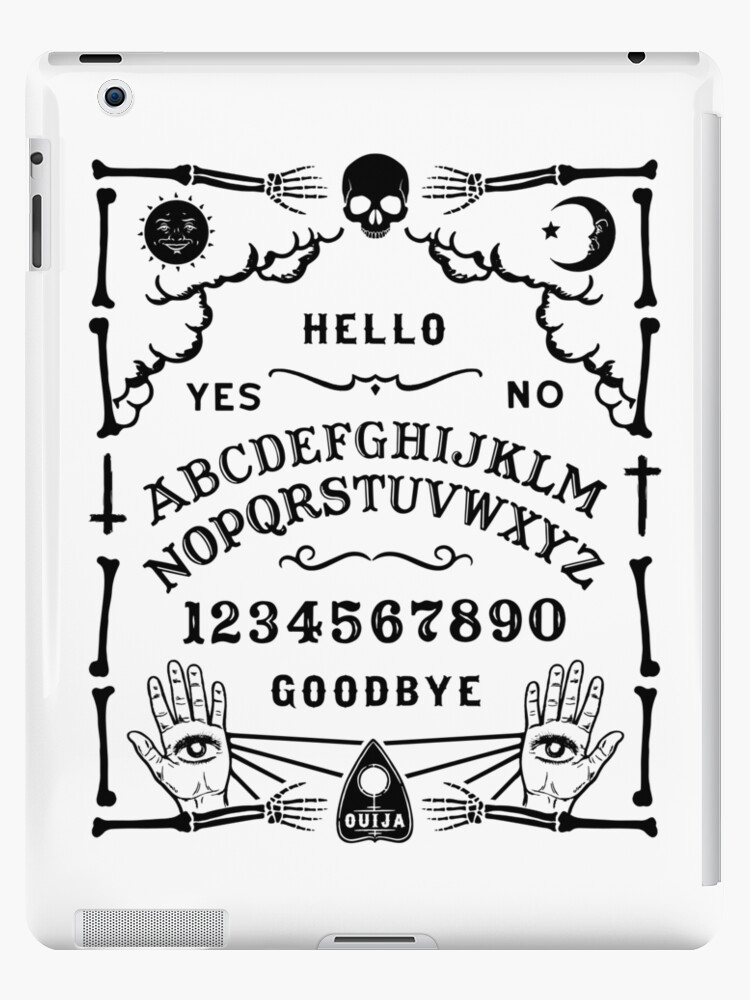 Ouija Board Spirit Board Ipad Case Skin By Shirtwreck