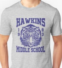 Hawkins Middle School (mugs, shirts, and more merch) Unisex T-Shirt