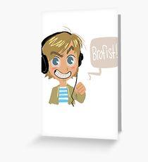 PEWDS Greeting Card