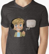 PEWDS Mens V-Neck T-Shirt