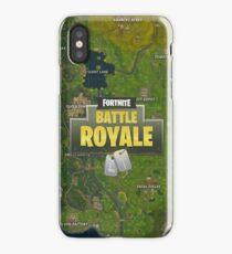 fortnite map iPhone Case/Skin