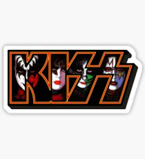 kiss - faces Sticker