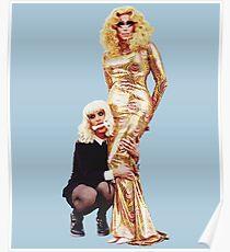 Trixya - Trixie Mattel and Katya  Poster
