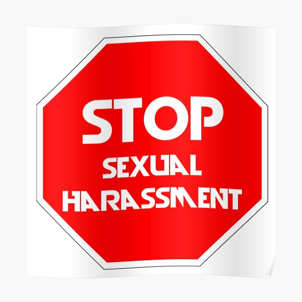 Stop Sexual Harassment Poster