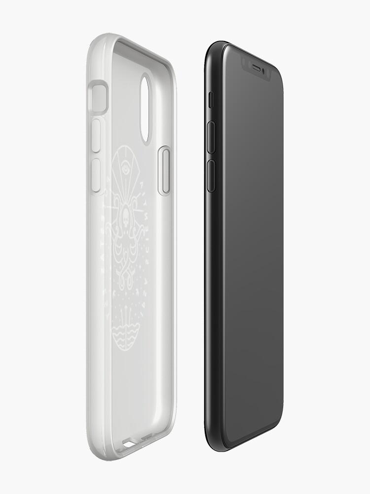 Alternative Ansicht von Wissen - Weiß / Schädel iPhone-Hülle & Cover