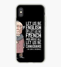 John A. Macdonald iPhone Case