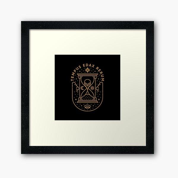 Tempus Edax Rerum Framed Art Print
