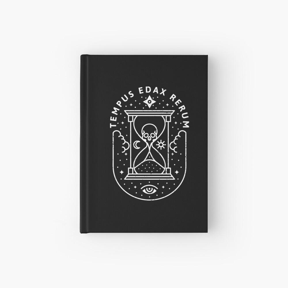 Time / White Hardcover Journal