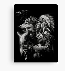 Native American Spirit Canvas Print