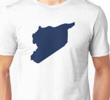 Syria map Unisex T-Shirt