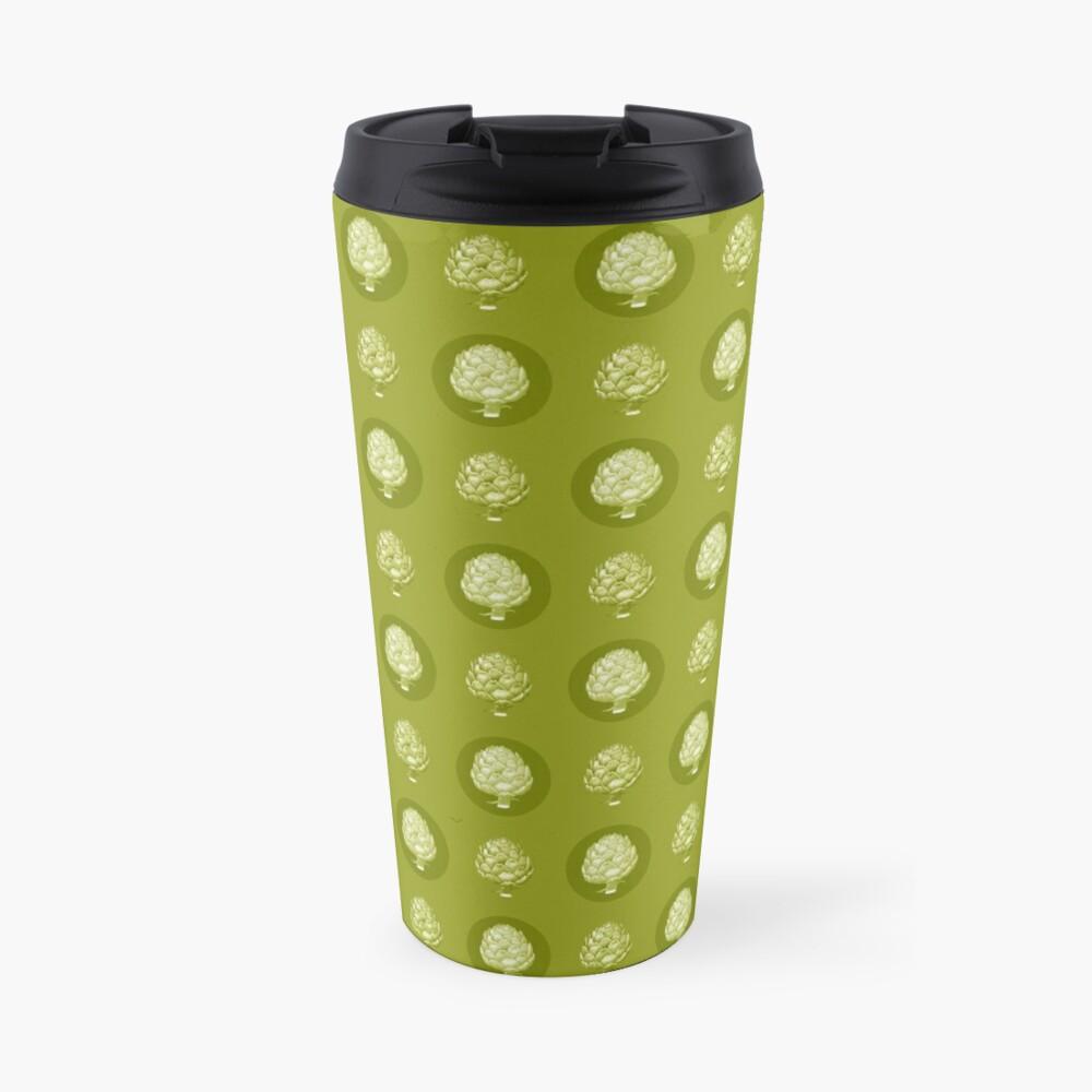 Artichoke Pattern Travel Mug