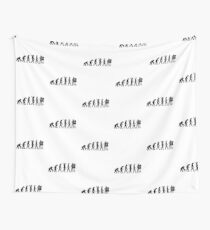 Evolution Tailor Wall Tapestry