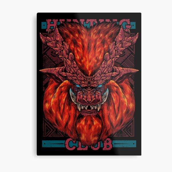 Hunting Club: Teostra Metal Print