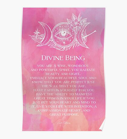 Divine Being Poster