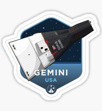 Space Race Serie - GEMINI Sticker