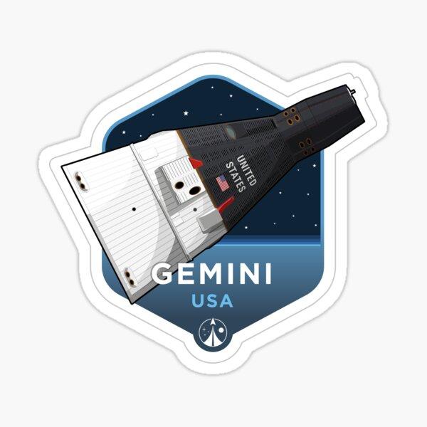 Space Race Series - GEMINI Sticker