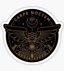 Carpe Noctem Sticker