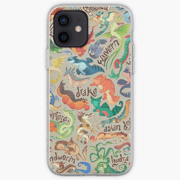 Recueil de mini-dragons Coque souple iPhone