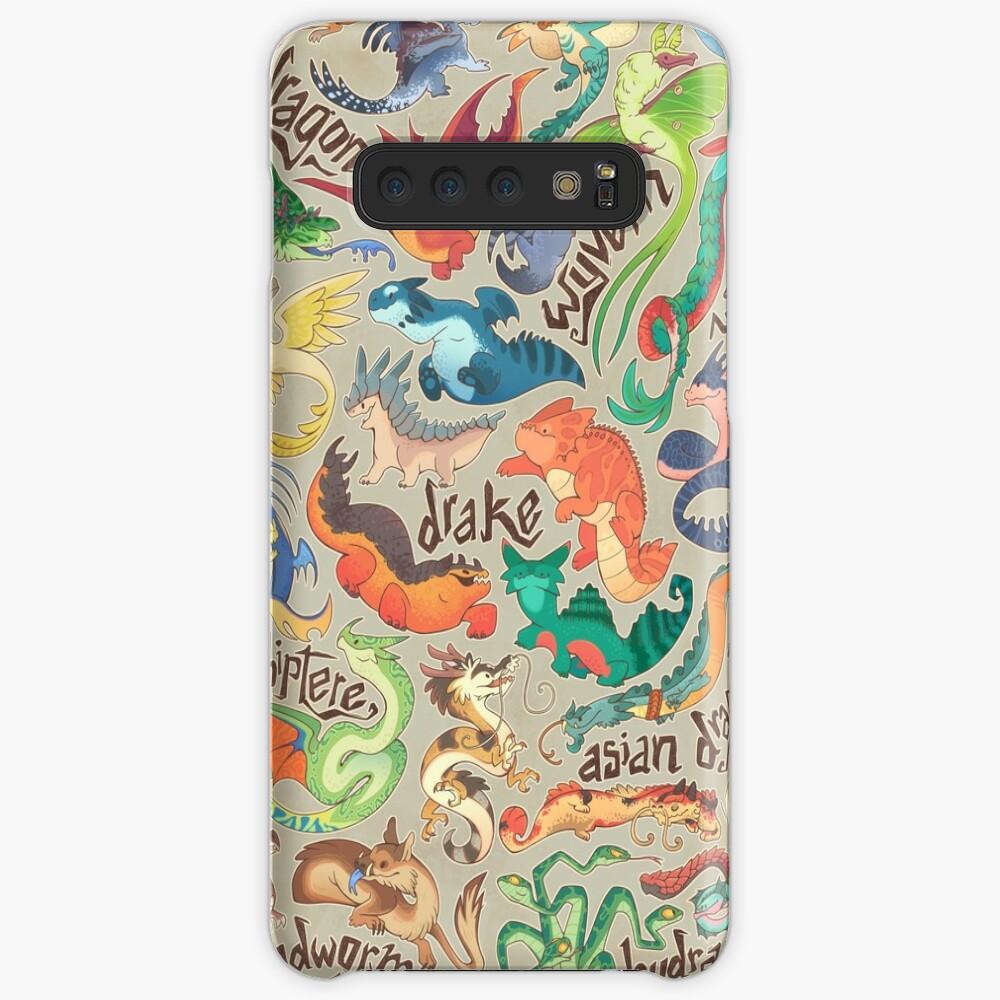 Mini dragon compendium  Case & Skin for Samsung Galaxy