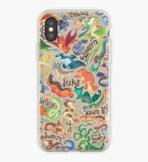 Mini dragon compendium  iPhone Case