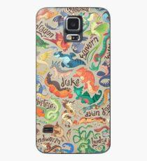 Mini dragon compendium  Case/Skin for Samsung Galaxy