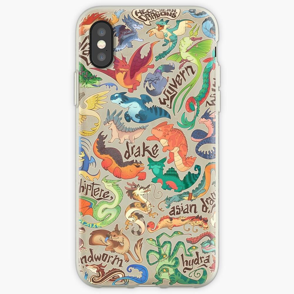 Mini dragon compendium  iPhone Cases & Covers