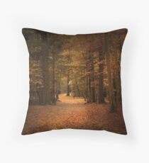 The guiding light Throw Pillow