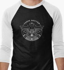 Carpe Noctem / White Baseball ¾ Sleeve T-Shirt