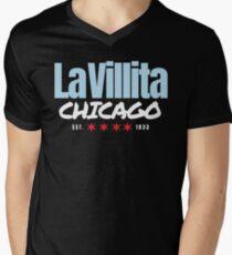 "Little Village ""La Villita"" Chicago Pride | Apparel & Accessories Men's V-Neck T-Shirt"