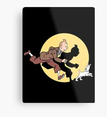 TIN TIN THE MOVIE Metal Print