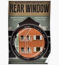 Affiche de film alternative à la fenêtre arrière Poster
