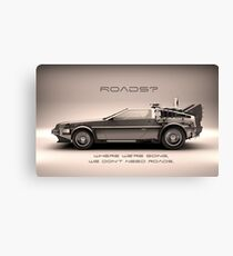 Roads ? Back to the future  Canvas Print