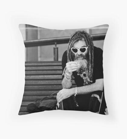♥-♥ Throw Pillow