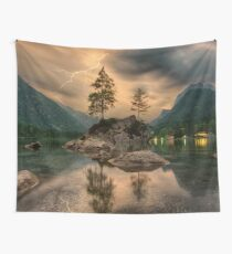 Mountain Landscape Wall Tapestry
