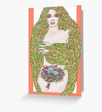 And Your Bird Is Green... Greeting Card