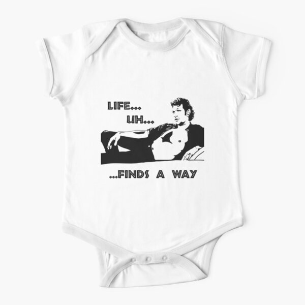 Jeff Goldblum - Jurassic Park Short Sleeve Baby One-Piece