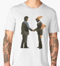 Pink Wish You Were Floyd Here Men's Premium T-Shirt
