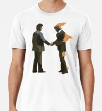 Camiseta premium para hombre Pink Wish You Were Floyd Here